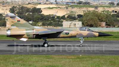 508 - Dassault Mirage F1 EDA - Libya - Air Force