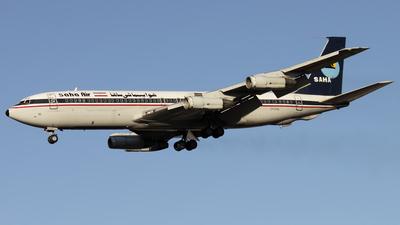 EP-SHU - Boeing 707-3J9C - Saha Air