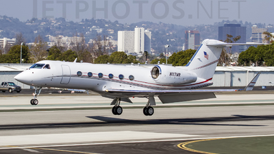 N117WR - Gulfstream G350 - Private