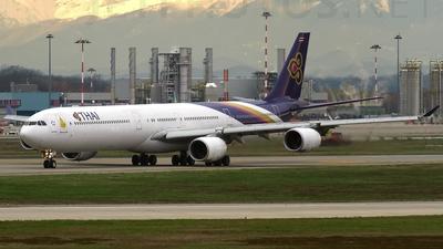 HS-TNB - Airbus A340-642 - Thai Airways International