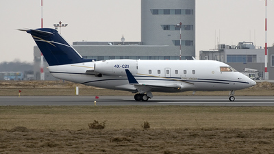 4X-CZI - Canadair CL-600-1A11 Challenger 600S - Private