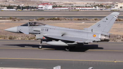 C.16-38 - Eurofighter Typhoon EF2000 - Spain - Air Force