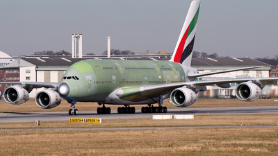 F-WWAV - Airbus A380-861 - Airbus Industrie