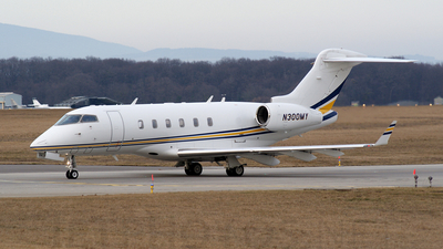 N300MY - Bombardier BD-100-1A10 Challenger 300 - Private