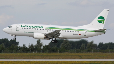 D-AGEB - Boeing 737-322 - Germania