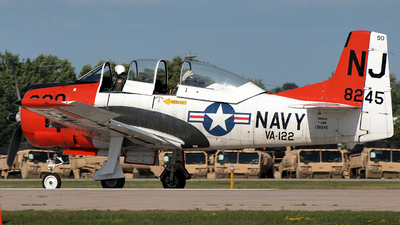 N65491 - North American T-28B Trojan - Private