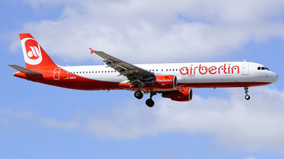 D-ABCH - Airbus A321-211 - Air Berlin
