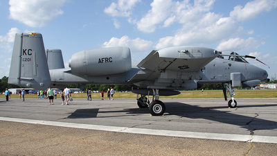 80-0201 - Fairchild OA-10A Thunderbolt II - United States - US Air Force (USAF)