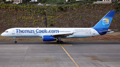 G-FCLJ - Boeing 757-2Y0 - Thomas Cook Airlines