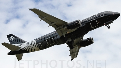 ZK-OJR - Airbus A320-232 - Air New Zealand