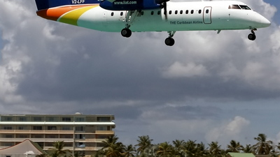 V2-LFF - Bombardier Dash 8-311 - Leeward Islands Air Transport (LIAT)