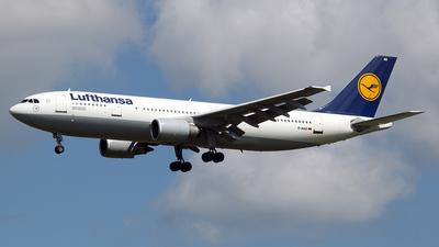 D-AIAS - Airbus A300B4-603 - Lufthansa