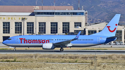 G-TAWD - Boeing 737-8K5 - Thomson Airways