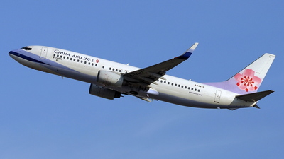 B-18617 - Boeing 737-809 - China Airlines