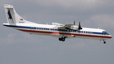 N431AT - ATR 72-212 - American Eagle (Executive Airlines)