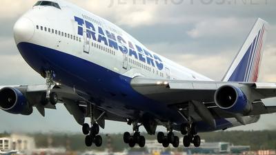 VP-BGU - Boeing 747-346 - Transaero Airlines