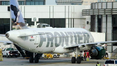 N261AV - Airbus A320-214 - Frontier Airlines