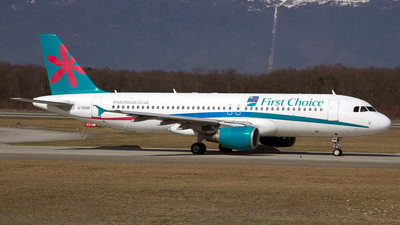 G-OOAR - Airbus A320-214 - First Choice Airways