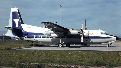 VH-TQN - Fokker F27-600 Friendship - Trans Australia Airlines (TAA)