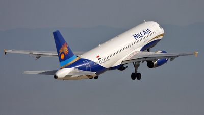 SU-BQB - Airbus A320-232 - Nile Air