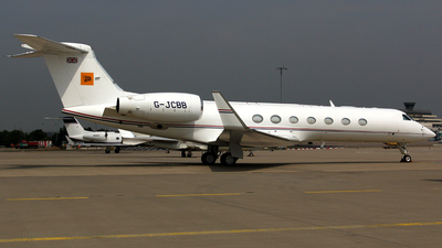 G-JCBB - Gulfstream G550 - Private