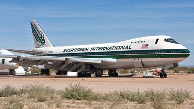 A picture of N470EV - Boeing 747273C - [20653] - © Ian Tate