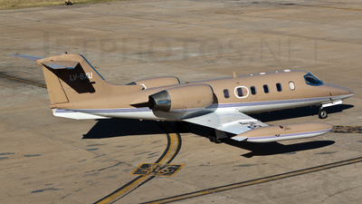 LV-BXU - Bombardier Learjet 35A - Private