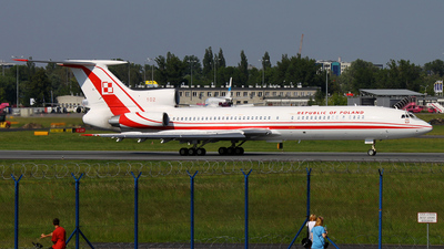 102 - Tupolev Tu-154M - Poland - Air Force