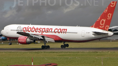 G-CDPT - Boeing 767-319(ER) - Flyglobespan