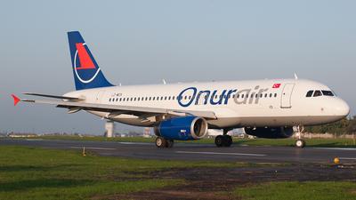 LZ-WZA - Airbus A320-232 - Onur Air