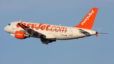G-EZIA - Airbus A319-111 - easyJet