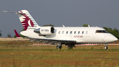 A7-CEA - Bombardier CL-600-2B16 Challenger 605 - Qatar Executive