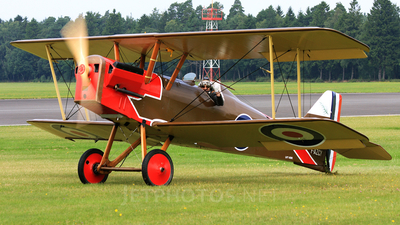 F-AZCY - Royal Aircraft Factory SE.5 Scout - Private