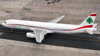 OD-RMH - Airbus A321-231 - Middle East Airlines (MEA)