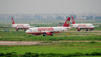 VT-KFX - Airbus A320-232 - Kingfisher Airlines
