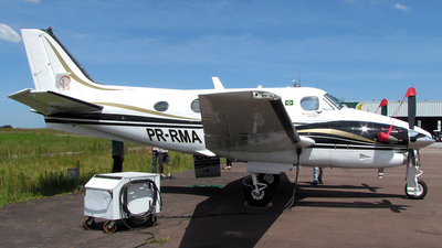 PR-RMA - Beechcraft C90B King Air - Private