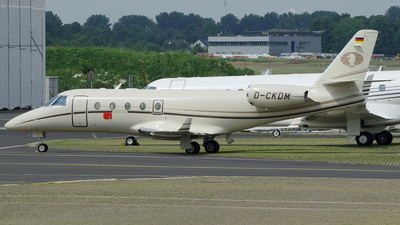 D-CKDM - Gulfstream G150 - Private