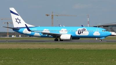 4X-EKU - Boeing 737-8Z9 - Up