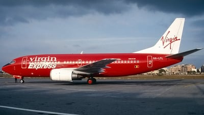 OO-LTL - Boeing 737-3M8 - Virgin Express