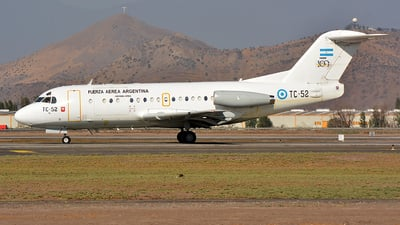 TC-52 - Fokker F28-1000C Fellowship - Argentina - Air Force