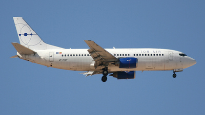 LY-AQV - Boeing 737-35B - Tor Air (Small Planet Airlines)