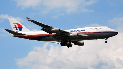 9M-MPK - Boeing 747-4H6 - Malaysia Airlines