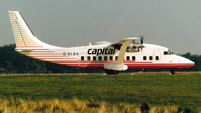 G-OLBA - Short 360-300 - Capital Airlines
