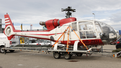 A picture of HBZEU - Aerospatiale SA 341G Gazelle - [1111] - © Dominik Burger