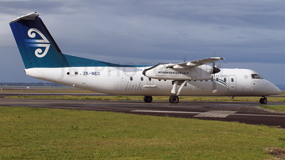 ZK-NEC - Bombardier Dash 8-Q311 - Air New Zealand Link (Air Nelson)