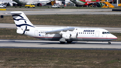 SX-DVA - British Aerospace Avro RJ100 - Aegean Airlines