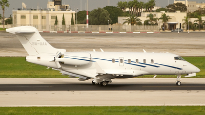 5A-UAA - Bombardier BD-100-1A10 Challenger 300 - United Aviation