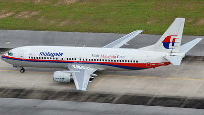 9M-MMM - Boeing 737-4H6 - Malaysia Airlines