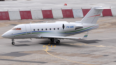 P4-ABC - Bombardier CL-600-2B16 Challenger 604 - Global Jet Luxembourg