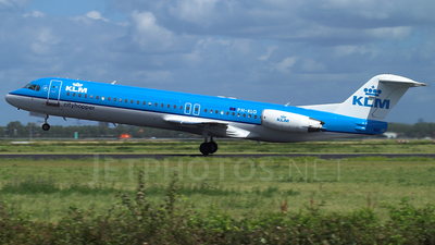 PH-KLG - Fokker 100 - KLM Cityhopper